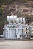 Centrale hydroélectrique d'Akosombo sur la rivière de la Volte au Ghana images stock