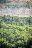 Centrale hydroélectrique d'Akosombo sur la rivière de la Volte au Ghana photographie stock