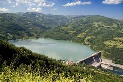 Centrale hydro-électrique image stock