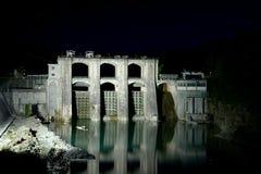 Centrale hydro-électrique Image libre de droits