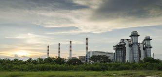 Centrale industrielle Image libre de droits