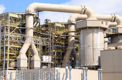 Centrale industrielle de grande industrie Image stock