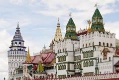 Centrale ingang Izmailovo het Kremlin stock afbeelding
