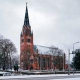 Centrale Kerk van Pori, Finland Royalty-vrije Stock Afbeelding