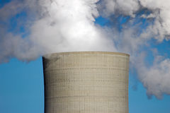 Centrale électrique de charbon Photo stock