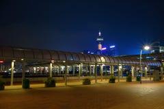 Centrale Nacht Royalty-vrije Stock Fotografie