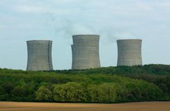 Centrale nucléaire Image stock