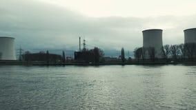 Centrale nucléaire Biblis banque de vidéos