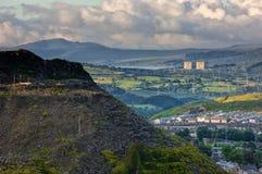 Centrale nucléaire de Trawsfynydd Images stock