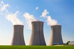 Centrale nucléaire Dukovany dans la République Tchèque l'Europe Photographie stock