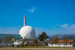 Centrale nucléaire, industrie d'énergétique images stock