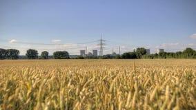 Centrale nucléaire, industrie d'énergétique banque de vidéos
