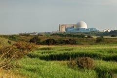 Centrale nucléaire, industrie d'énergétique Photographie stock