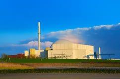 Centrale nucléaire, industrie d'énergétique Photographie stock libre de droits