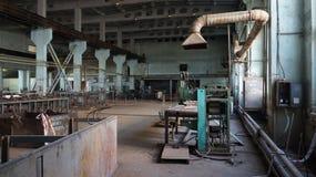 Centrale nucléaire invalide - Ural image libre de droits
