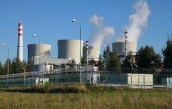 Centrale nucléaire Temelin dans la République Tchèque l'Europe Photo stock