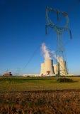 Centrale nucléaire Temelin dans la République Tchèque l'Europe Photographie stock