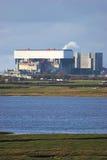Centrale nucleare. fotografia stock libera da diritti