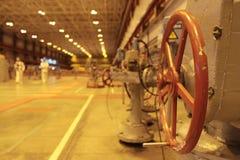 Centrale nucleare Fotografia Stock