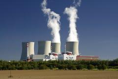 Centrale nucleare Fotografie Stock