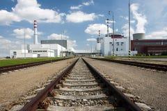 Centrale nucleare di Temelin Fotografia Stock