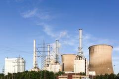 Centrale nucleare in Germania Fotografie Stock
