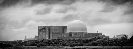 Centrale nucleare, industria di energetica Fotografia Stock