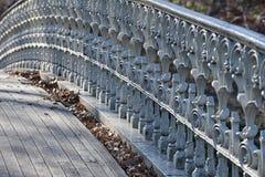 Centrale parkbrug Stock Foto's