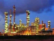 Centrale petrolchimica Fotografie Stock Libere da Diritti