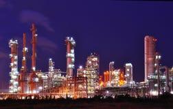 Centrale petrolchimica Immagini Stock