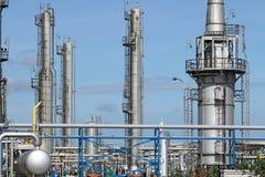 Centrale petrolchimica immagini stock libere da diritti