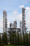 Centrale petrolchimica, zona industriale Fotografie Stock