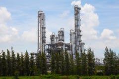 Centrale petrolchimica, zona industriale, Tailandia Immagine Stock Libera da Diritti