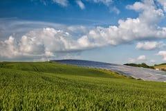 Centrale photovoltaïque Photographie stock