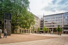 Centrale plaats in geheugen van de slachtoffers van Duits Nazisme stock foto's