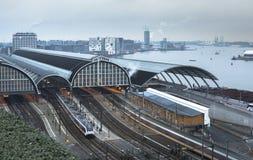 Centrale post Amsterdam stock afbeeldingen
