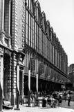 Centrale post in de stad van Antwerpen, België Stock Afbeeldingen