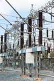 Centrale pour faire l'électricité images stock