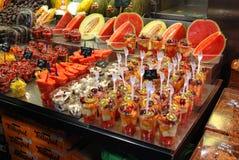 Centrale Productmarkt stock foto