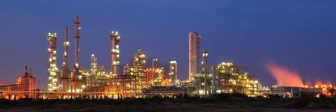 Centrale pétrochimique Photo libre de droits