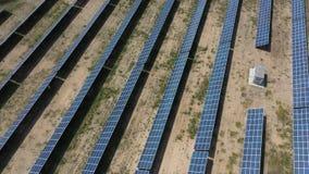Centrale solaire pour la production de banque de vidéos