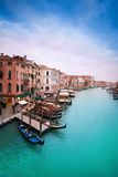 Centrale straten van Venetië stock fotografie