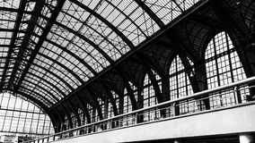 At the Centrale Train Station of Antwerp Royalty Free Stock Images