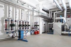Centrale verwarming en het koelen systeemcontrole stock fotografie