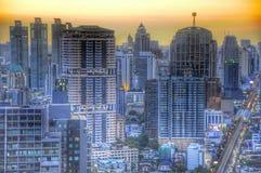 Centrale Wereld (CTW) de beroemde winkelcomplexxen binnen de stad in van Bangkok stock fotografie
