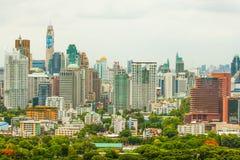 Centrale Wereld (CTW) de beroemde winkelcomplexxen binnen de stad in van Bangkok Stock Foto