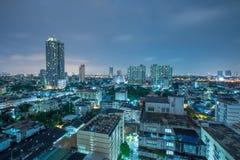 Centrale Wereld (CTW) de beroemde winkelcomplexxen binnen de stad in van Bangkok Royalty-vrije Stock Foto's