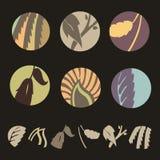 Centrales de Logotype illustration libre de droits