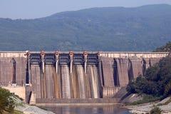 Centrales hidroeléctrico Imagenes de archivo