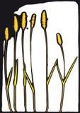 Centrales stylisées (vecteur) illustration libre de droits